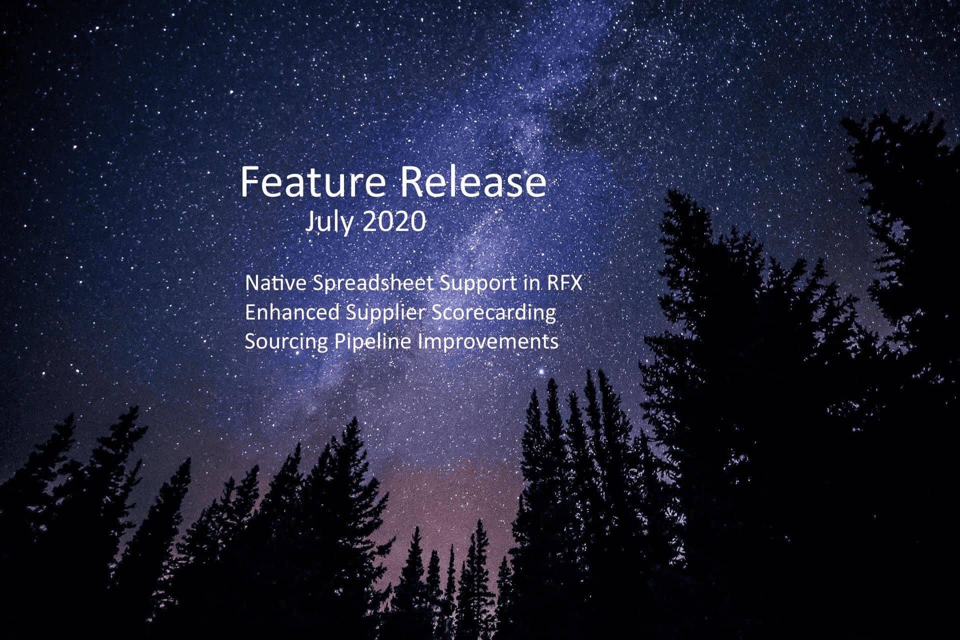 July 2020 Updates